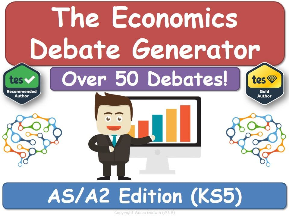 The Economics Debate Generator (AS, A2, KS5, AQA, Economics)