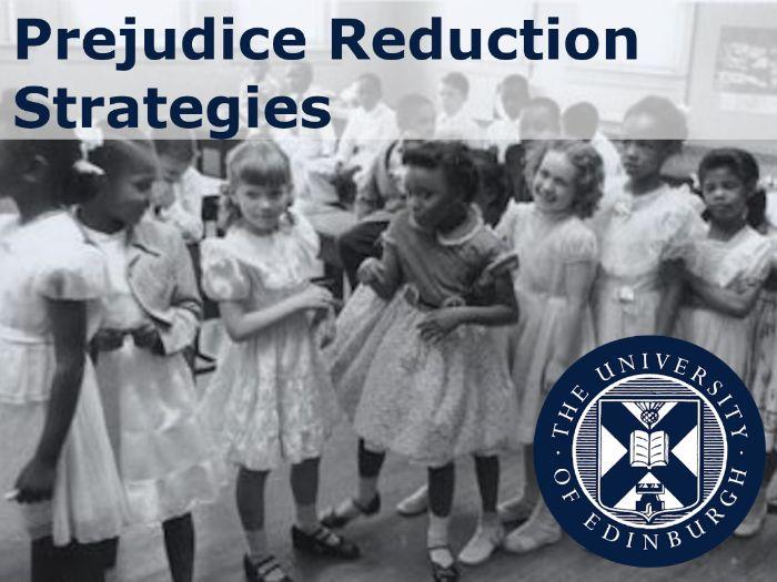 'Prejudice Reduction Strategies' Psychology Resource