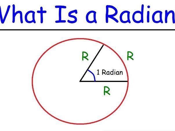Edexcel A level Maths Year 2 Chapter 5 Radians