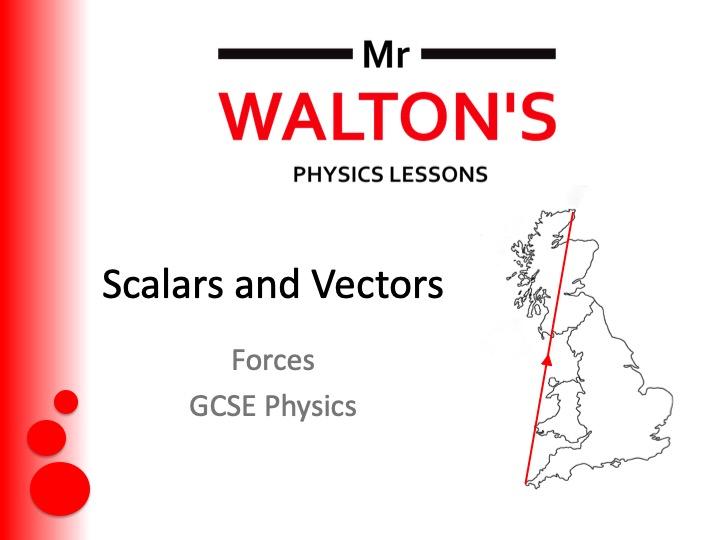 Scalars and Vectors GCSE Forces