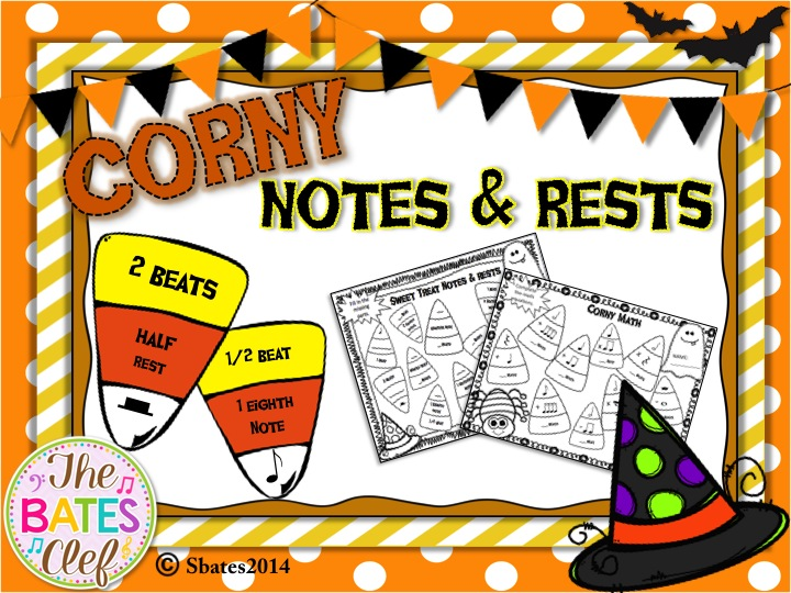 Candy Corn Notes & Rests