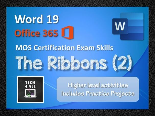 The Ribbons in Microsoft Word (2)