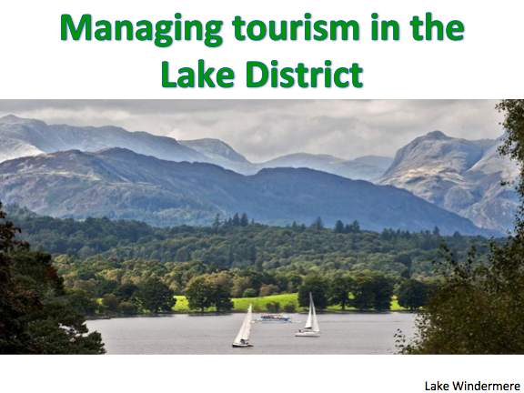 tourism in the lake district essay A page of resources to help with aqa's tourism geography unit  the lake  district national park is england's largest park and includes scafell pike - its.