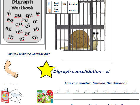 Digraph Consolidation Workbook