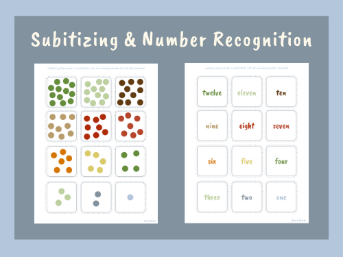 Subitizing and Number Tiles