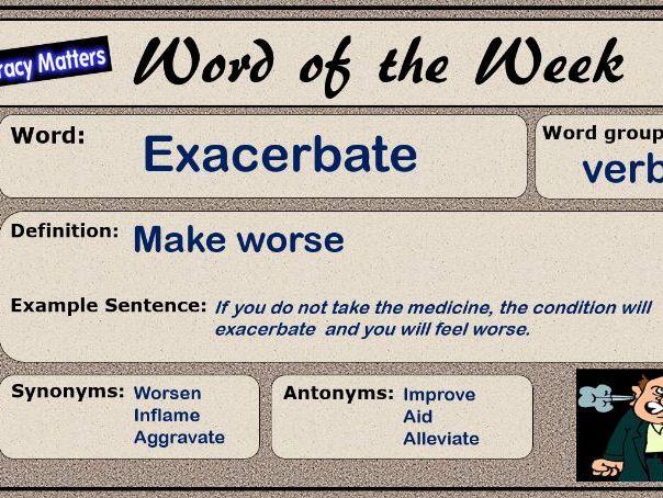 Word of the Week Display
