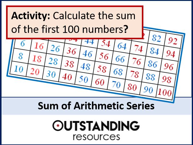 Algebra: Sequences 7 - Sum of Arithmetic Series (A-level)
