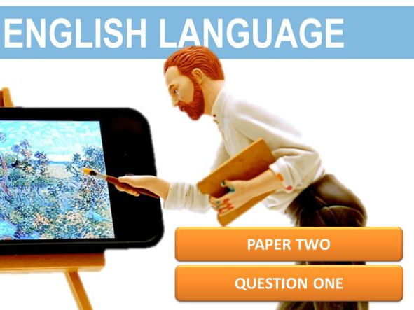 GCSE English Language 9-1 AQA: Paper 2 Question 1