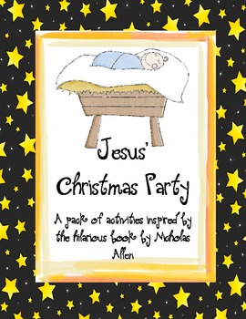 Jesus' Christmas Party Activities Pack (US)