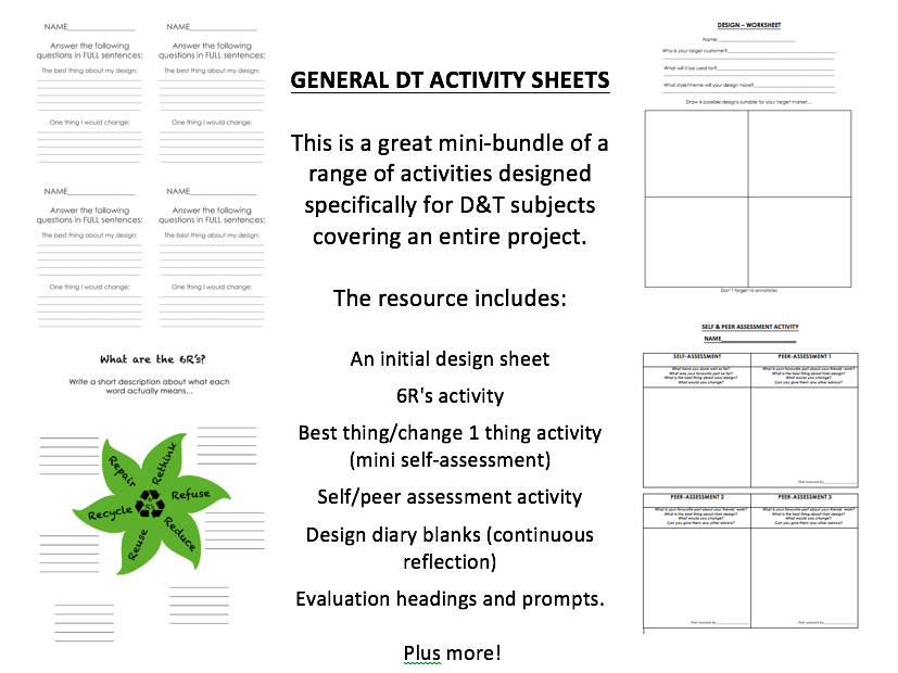 design and technology assessment Gcse 4140 : design and technology: product design  controlled assessment  unit 2  product design tasks instructions for teachers  this document and the information contained withinis to be made.