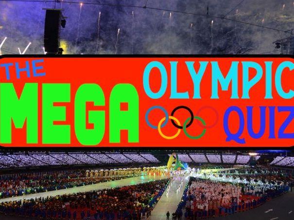 PE MEGA Wet Weather Olympic Quiz