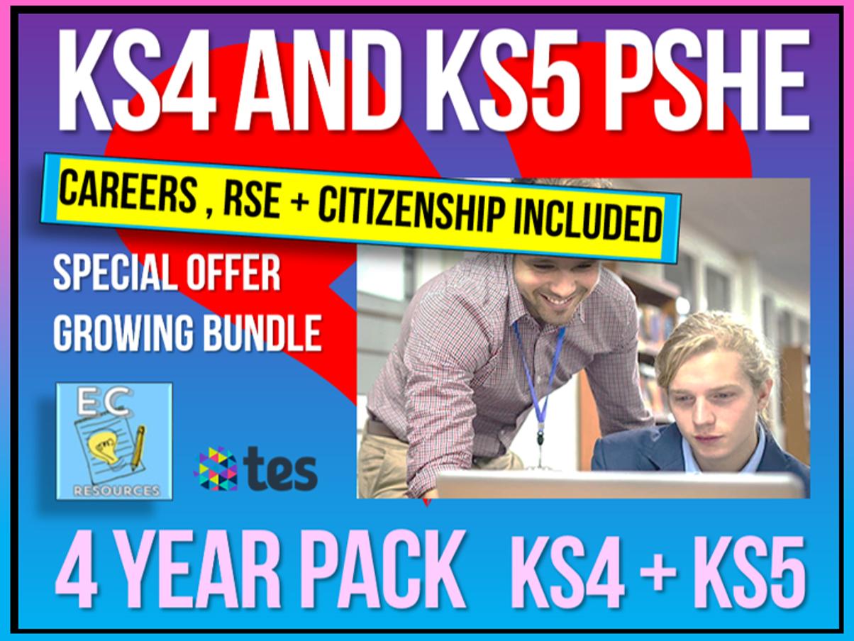 Complete KS4 + KS5 PSHE