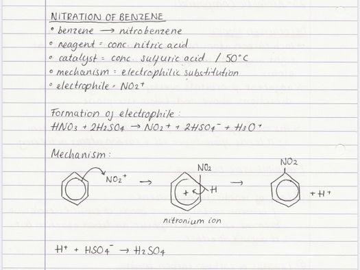 OCR A A-level Chemistry: Aromatic Chem