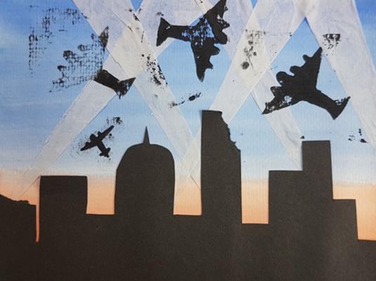 World War 2 KS2 (Year 5/6)  Art Project