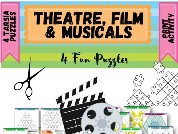 Movies, Film and Theatre  Puzzles