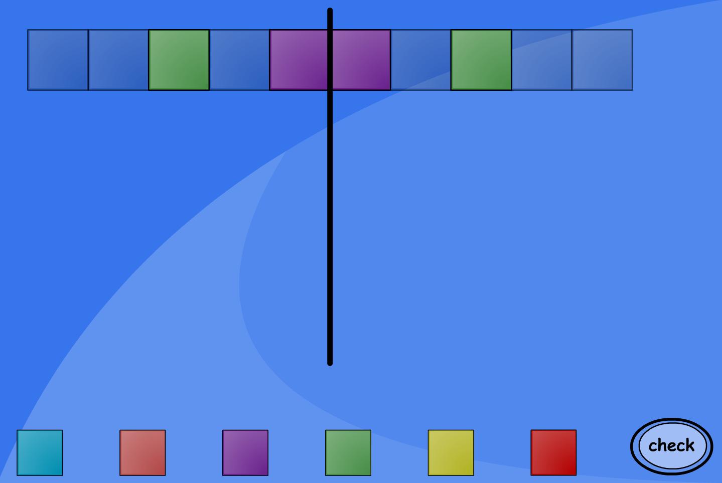 Symmetrical Patterns Interactive Activity - Number KS1