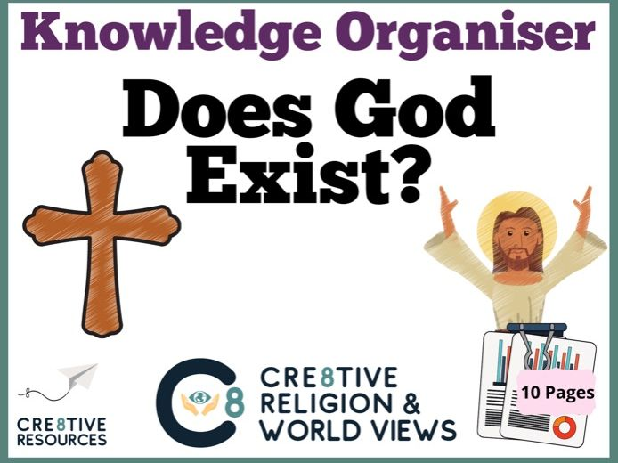 Does God Exist - Knowledge Organiser