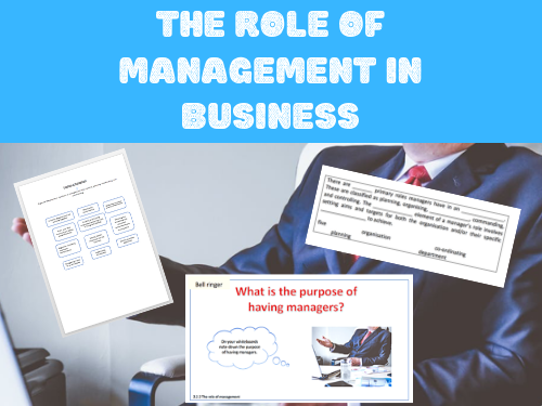 The role of management