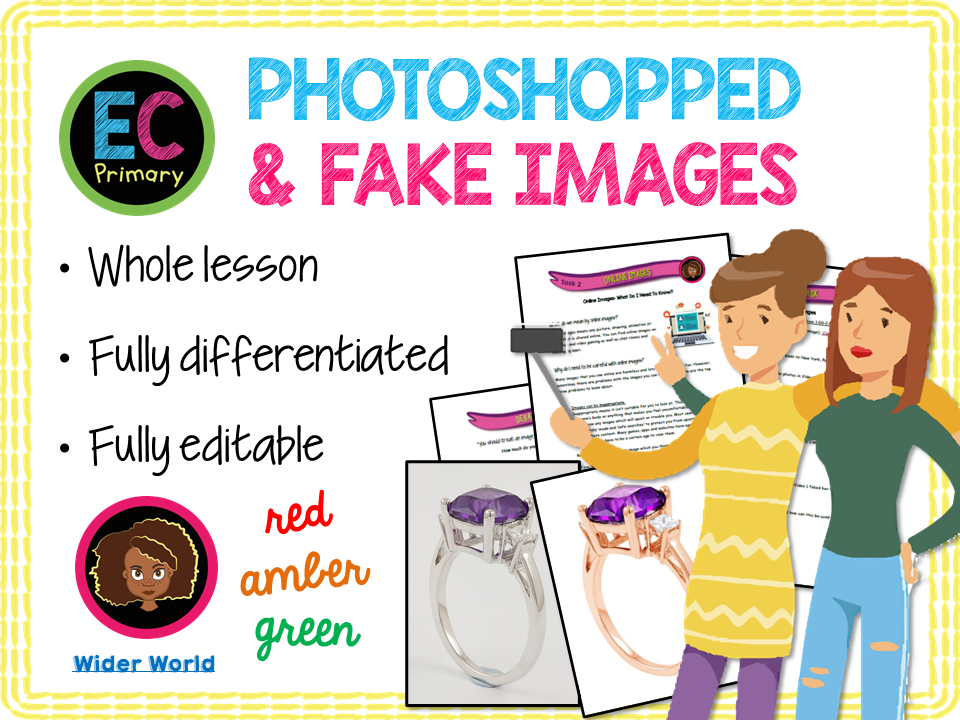 Photoshop, Airbrushing and Fake Online Images