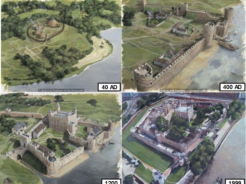 Tower of London - Origins of the Site -Normans