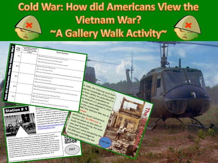 The Vietnam War: ~A Power-point & Gallery Walk Student Activity~
