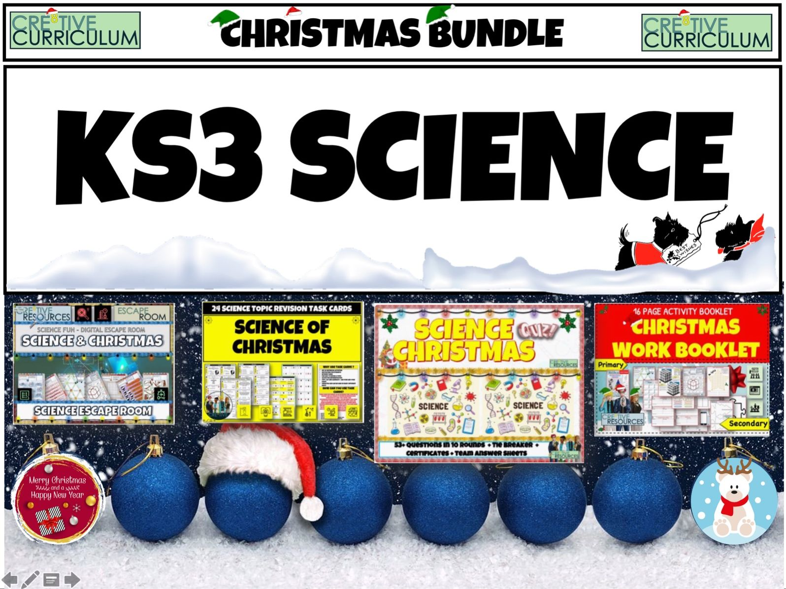 Science Christmas Bundle