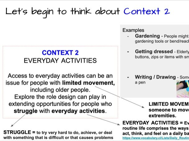 OCR GCSE - NEA ANALYSING THE 2020 CONTEXTS 1 & 2 ONLY