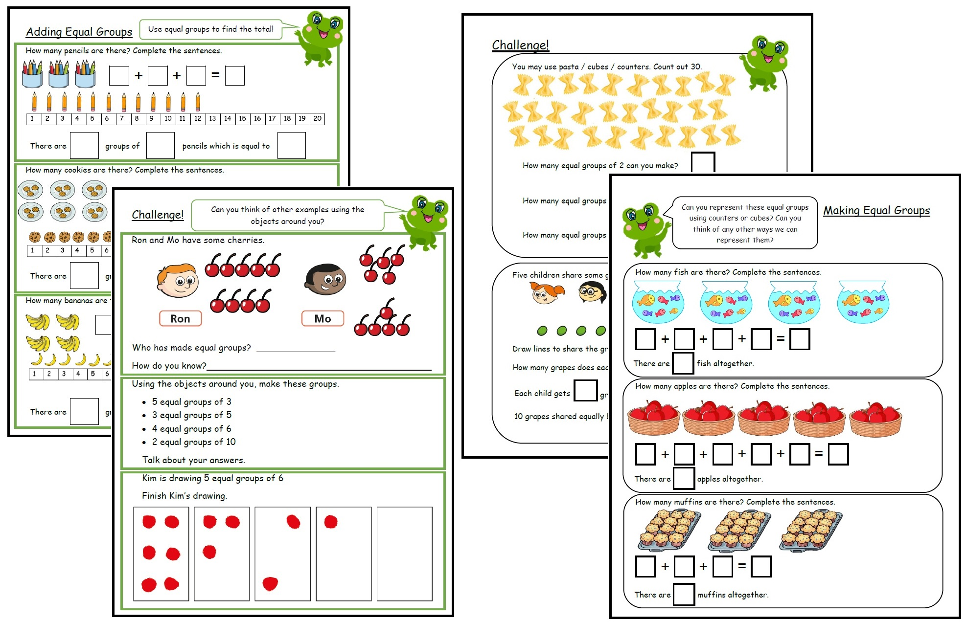 Multiplication and Division - Equal Groups