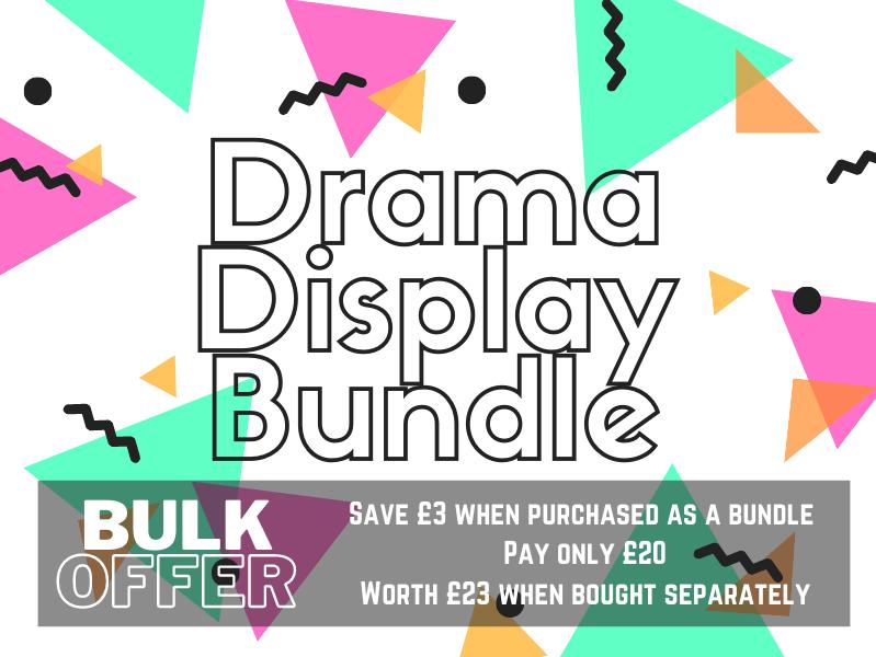 Drama Display Bundle