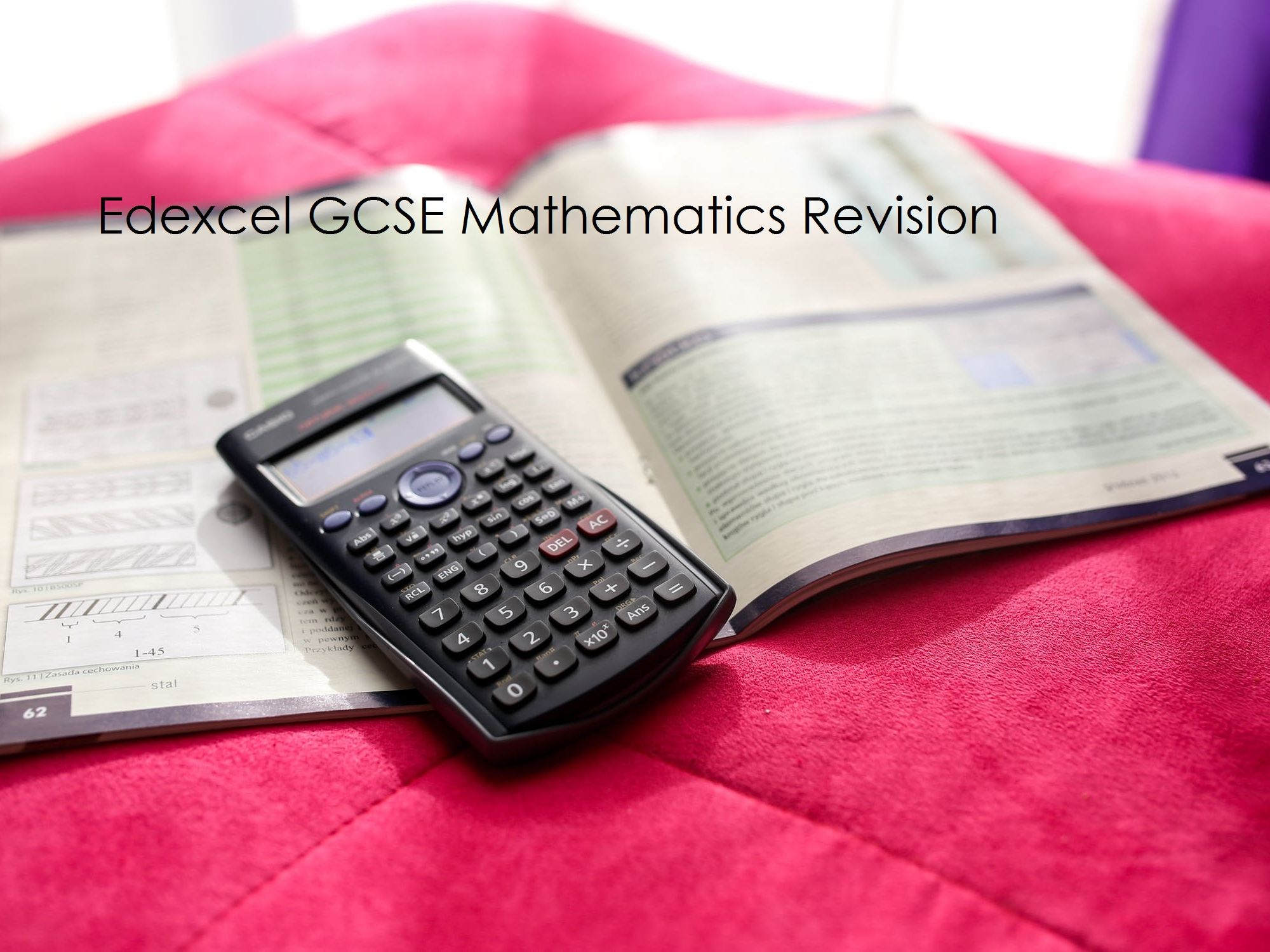 Edexcel GCSE Mathematics Revision Resources