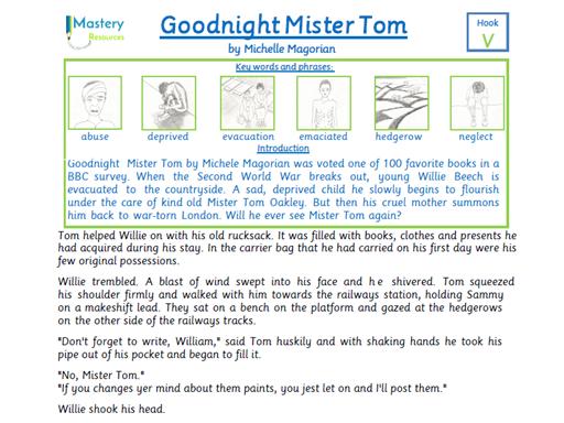 Goodnight mr tom essay