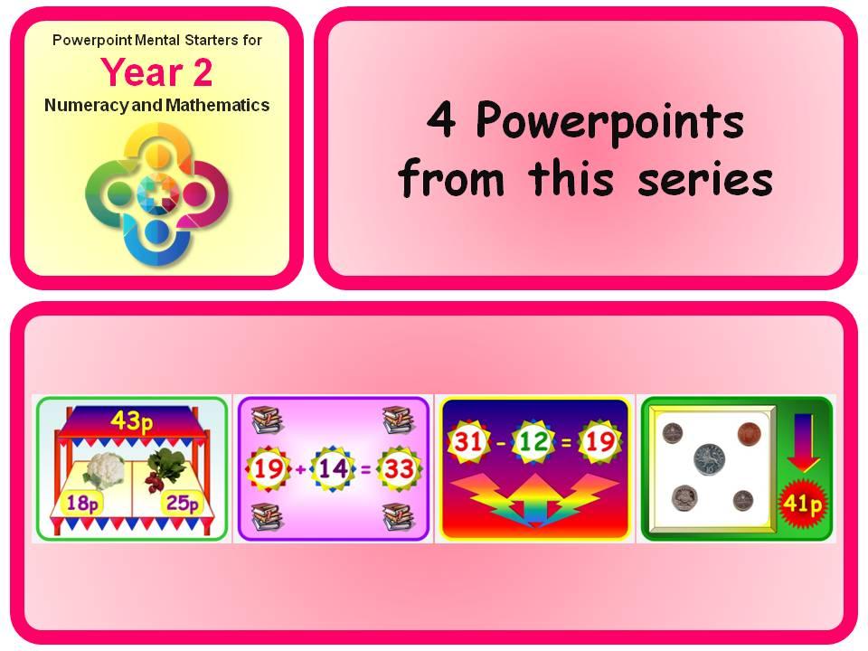 KS1 Year 2 Maths Mental Starters 9