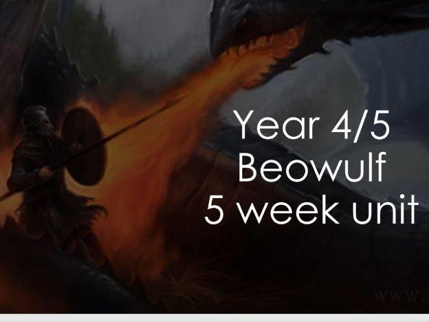 Year 4/5 - Beowulf - 5 week writing unit