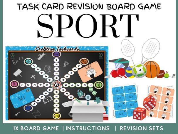PE SPORT Revision Board Game