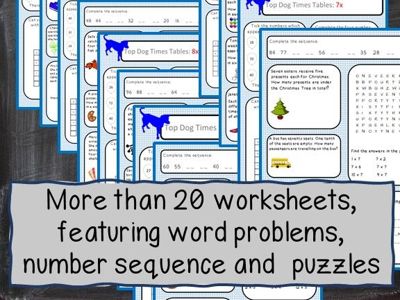 Times Table worksheets for KS2 - Free for all. Ideal for home schooling.