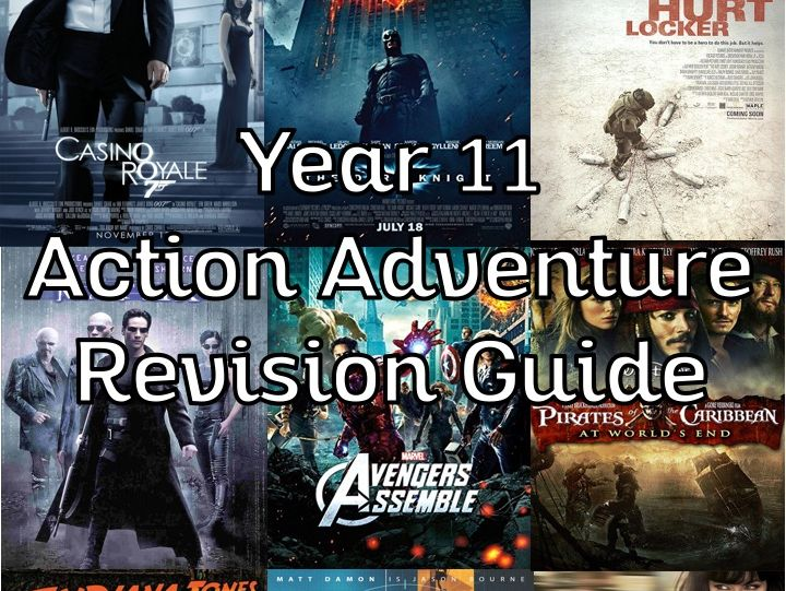Action Adventure Revision Guide - OCR GCSE (legacy)