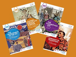 Eduqas - WJEC GCSE History Revision guides for most common combination of units