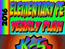 Physical Education K-5th Yearly Plan