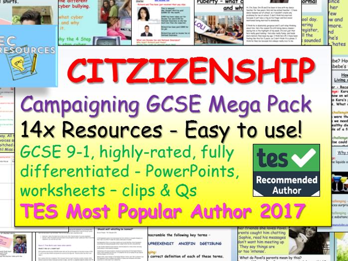Campaigning Citizenship GCSE