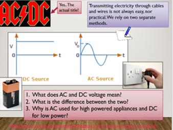 KS3 P5.1 Alternating Current