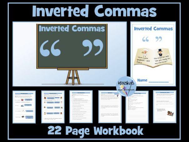 Inverted Commas (Speech Marks)