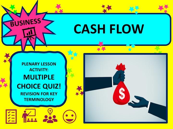 Cash Flow Forecasting - Multiple Choice Quiz