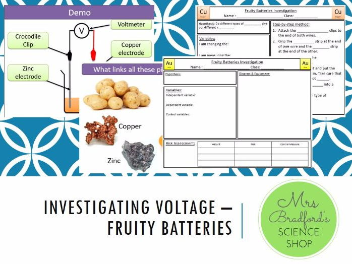 Investigating Voltage - Fruity Batteries