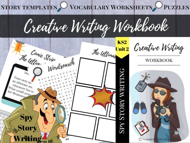Creative Writing Workbook: Spy story writing