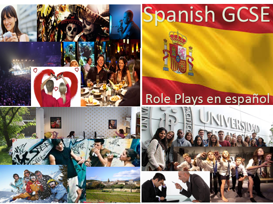 New Spanish GCSE Role Plays (speaking test)