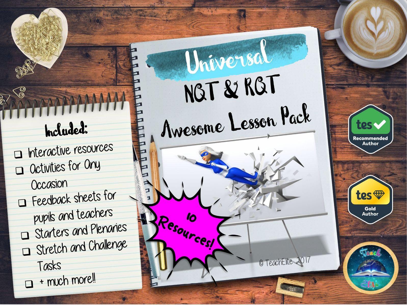 NQT - Newly Qualified Teacher ( NQT & RQT )