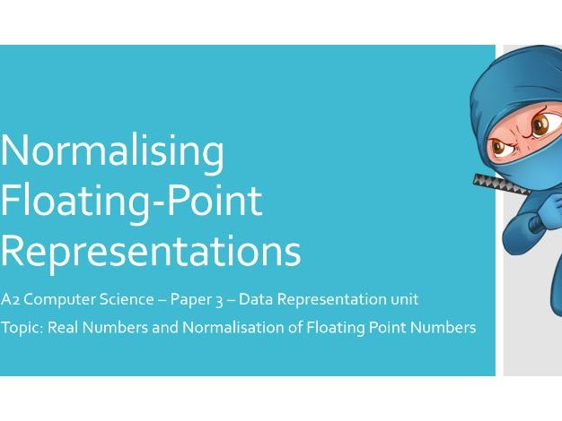 Normalising Floating-Point Representation