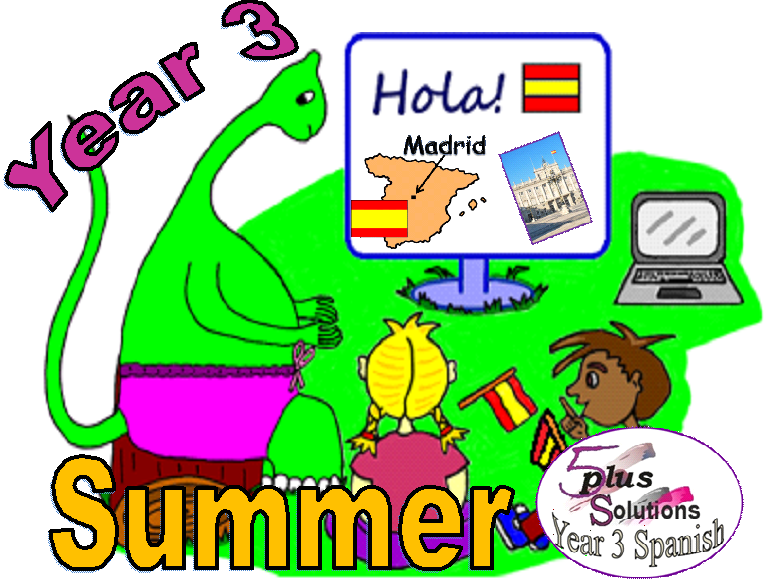 Primary Spanish WHOLE TERM: Year 3 Summer