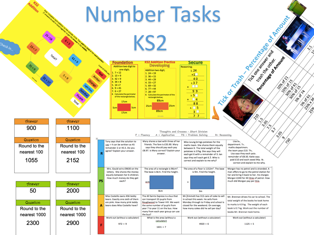 Number KS2 Bundle