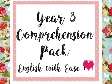 Year 3 Comprehension Pack
